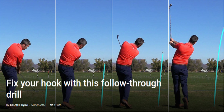 Fix your hook with this follow-through drill