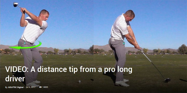 A distance tip from a pro long driver