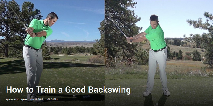 How to Train a Good Backswing