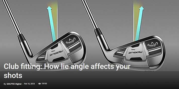 Club fitting: How lie angle affects your shots