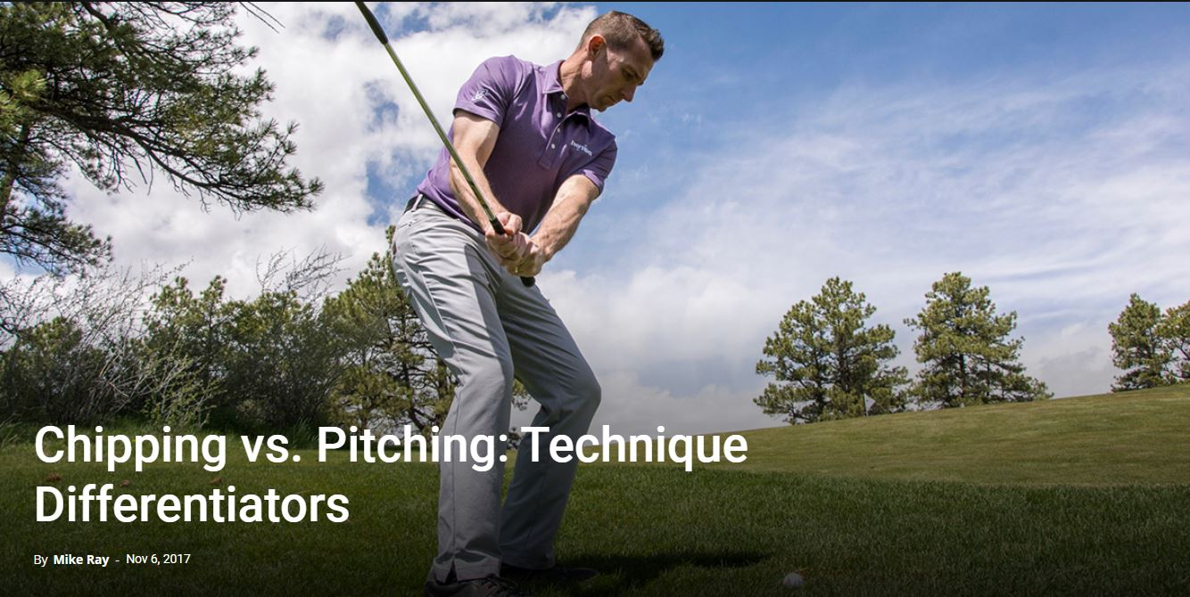 Chipping vs. Pitching: Technique Differentiators
